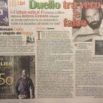"""""""la Sicilia"""" - 4 febbraio 2016 - Duello tra vero e falso."""